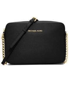 MICHAEL Michael Kors Jet Set Travel Large Crossbody - totally snagged this for my bday! Love everything about it.
