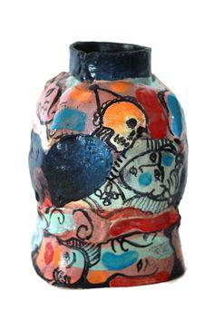 Skull vessel | From a unique collection of sculptures at https://www.1stdibs.com/art/sculptures/sculptures/