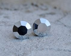 Small metallic studs!