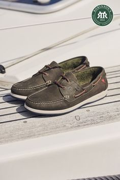 Dubarry Armada: a two-eye moccasin featuring Dubarry's ExtraLight® construction. New for Spring Summer, and available in five colours.   #dubarry #dubarrydeckshoes #robinsonsshoes New Shoes, Boat Shoes, Men's Shoes, Sailing Boots, Classic Branding, Country Boots, Shoe Horn, Shoe Tree, Types Of Shoes