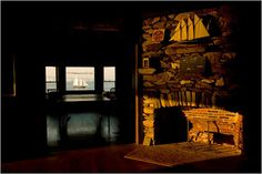 Clingstone ~ The Old House and the Sea: maintained by work weekends . . .   Content in a Cottage