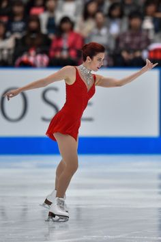 Ashley Wagner Photos Photos - Ashley Wagner of USA competes in the Ladies Singles Free Skating during the Japan Open 2015 Figure Skating at Saitama Super Arena on October 3, 2015 in Saitama, Japan. - Japan Open 2015 Figure Skating