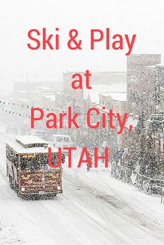 Park City, Utah has become a hot spot winter enthusiast's city. It is a cosmopolitan city. #Utah #ParkCity #Travel #Snow #ski | http://www.contentedtraveller.com/park-city-utah-hot-spot-ski-resort/
