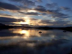 Loch Lomond from the Lodge Loch Lomond, Scotland, Spaces, Celestial, Sunset, Outdoor, Outdoors, Sunsets, Outdoor Games
