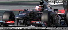 Australian GP Sauber ready for challenging season opener in Melbourne