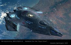 Twitter / darkmatter111: The USS Relativity #startrek ...