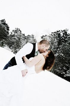 our winter wedding photography - m.linn studios