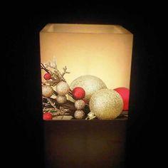 Otro modelo de nuestros fanales Navideños! No puede ser más bonito ¿verdad?  Ya están en la tienda www.envelados.com #Navidad #velas #fanales #decoracion