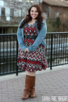 Wide Calf Boots Lookbook [Plus Size Fashion]