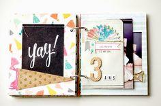 Confetti Collection - Maggie Holmes Design - Crate Paper - Laetitia Poissy Mini album