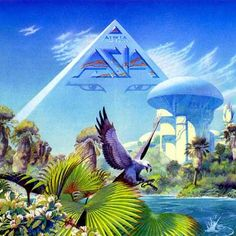 """Asia """"Alpha"""" by Roger Dean"""