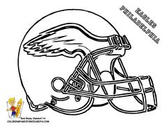 eagle football coloring pages football helmet coloring page 01nfc football helmets free - Coloring Pages Football