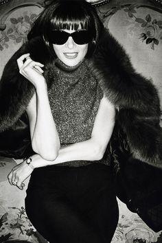 Anna Wintour, 67 años de revolución (de moda) © Mario Testino - MiraMira.tv