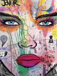 "Saatchi Art Artist: Loui Jover; Chalk 2014 Drawing ""key hole (SOLD)"""