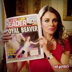 Oops. That's a Royal slip up, Princess Eleanor. #RoyalBeaver #TheRoyals