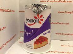 Crazy Food Dude: Review: Yoplait Whips! Cherry Cheesecake Yogurt