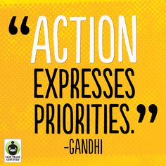 Make every purchase matter when you choose #FairTrade. #inspirationalquote