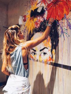 paint — Sam.Malpass Diy Wall Painting, Vintage Surf, Wall Drawing, Custom Dog Portraits, Mural Wall Art, Botanical Wall Art, Street Artists, Artistic Photography, Aesthetic Art