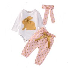 Cute Baby Girls Set of Headband, Jumpsuit & Pants to 18 months) Cute Baby Girl, Cute Babies, Baby Kids, Long Pants, Outfit Sets, Playsuit, Pant Jumpsuit, Long Sleeve Shirts, Outfits