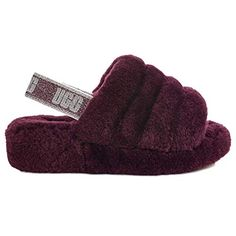 UGG Womens W Fluff Yeah Slide Slipper Port 10 M US >>> For more information, visit image link. (This is an affiliate link)