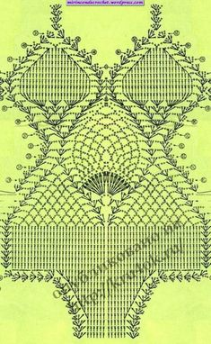 Crochet Swim Suits and Cover Ups 2011 - diamondinapril - Álbuns da web do Picasa Motif Bikini Crochet, Beach Crochet, Crochet Bra, Crochet Diagram, Crochet Woman, Crochet Chart, Crochet Clothes, Crochet Patterns, Crochet Summer