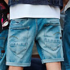 The D-Staq. Now available as shorts. Tap to shop. Daily Fashion, Fashion Art, Spring Fashion, Womens Fashion, Fashion Trends, Raw Denim, Men's Denim, G Star Raw, Simple Style