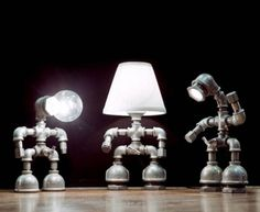 Recycled Metal Light Fixtures for your Home Faucets