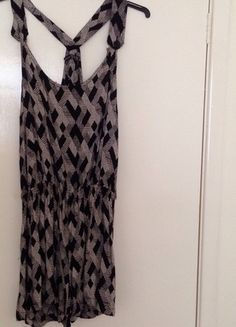 Buy here at #vinteduk http://www.vinted.co.uk/womens-clothing/playsuits/4407215-aztec-strappy-playsuit
