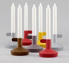 Flag Candleholder by Norman Copenhagen