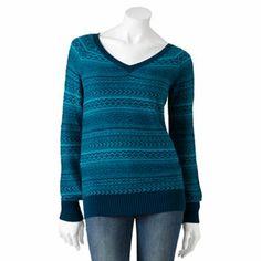 SO Striped Sweater - Juniors