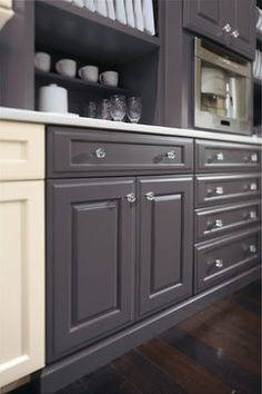 Custom Finish - contemporary - kitchen cabinets - other metro - MasterBrand Cabinets, Inc.
