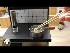 Minifood Edible Miniature Chocolate Donut - YouTube Tiny Cooking, Mini Kitchen, Chocolate Donuts, Miniature Crafts, Mini Foods, Tableware, Videos, Youtube, Films
