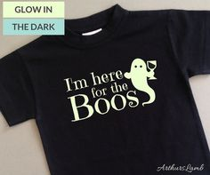 Are you going Trick or Treating or to a Halloween Party? Then why not had a bit of humour to the occasion with this Im Here For The Boos Halloween T Shirt. This cute ghost t-shirt graphic and funny slogan makes unique Halloween costume and a great Halloween shirt. This design is also available on a Hoodie - https://www.etsy.com/uk/listing/465578998/im-here-for-the-boos-halloween?ref=shop_home_active_31 I only use t-shirts made from 100% cotton fabric. I personally customised the design and…