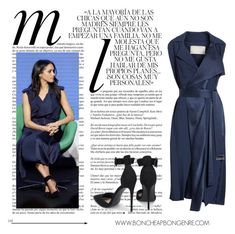"""Meghan Markle Blue dress"" by boncheapbongenre on Polyvore featuring mode, Whiteley, Jason Wu, bluedress et MeghanMarkle"
