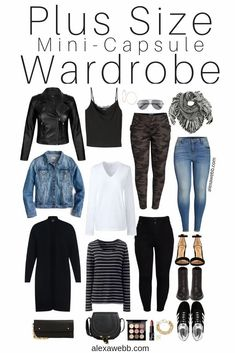 Plus Size Fall Outfit, Plus Size Fashion For Women, Plus Size Women, Plus Size Winter Outfits, Plus Size Fasion, Fashionable Plus Size Clothing, Fashion Tips For Women, Plus Size Capsule Wardrobe, Fall Capsule Wardrobe