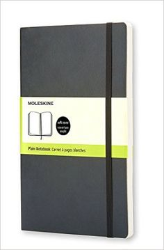 Moleskine Classic Notebook, Pocket, Plain, Black, Soft Cover (3.5 x 5.5) (Classic Notebooks): Moleskine: 9788883707148: Amazon.com: Books