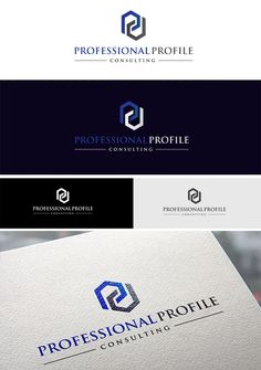Create a logo for a high quality, premium LinkedIn profile consulting firm by lorib.design