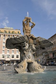 Fontana del Tritone (Bernini), Rome