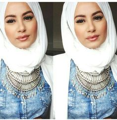 statement necklace pieces - Hijab Hills