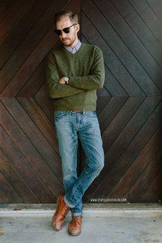 February 18, 2014. Sweater: Uniqlo - $20 (similar)Shirt: CCS -...