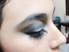 Smokey makeup look