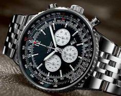 Louis Vuitton Jet Chrome Watch