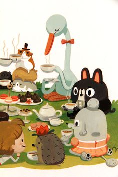 A Tea Party With Fancy Friends, Joy Ang