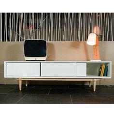 Retro TV-meubel - love the design of the unit
