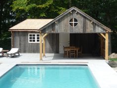 Pool house made by Man at Work (Belgum)