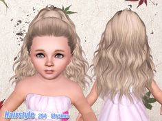 Skysims Hair Toddler 204