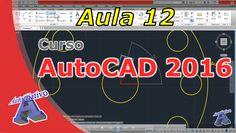 Curso de AutoCAD 2016 – Comandos de Modificação Parte 2 – Aula 12 – Auto... Autocad 2016, Tech Companies, Youtube, Company Logo, Neon Signs, Logos, Modern Architecture, Classroom, A Logo