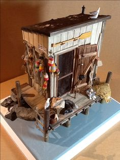 Fisherman's shack     D Osepchuk.             R- Stuff Miniatures