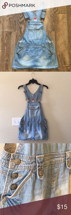 No Boundaries Skirt Overalls In Excellent Condition! Never Worn. Just been sitting in my Closet For Some Time. These No Boundaries Brand Skirt Overalls are Very Comfortable to Wear. They Do have Front & Back Pockets. Color: Medium Stone  100% Cotton No Holes or Stains. No Boundaries Other