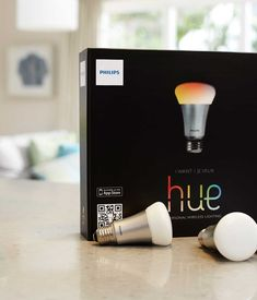 """Philips Hue Ambiance lighting will never be the same after you try the Philips Hue lighting system. Using a companion app, you can tell the lights to turn on or off at certain times, set them to specific colors, and manage them remotely. Philips even offers """"Light Recipes,"""" preset lighting settings for various purposes like relaxing, reading, and concentrating. Photo by: Philips"""